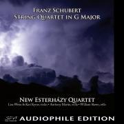 New Esterhazy Quartet - Franz Schubert - String Quartet in G Major - Cover Image