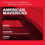 San Francisco Symphony - American Mavericks - Cover Image