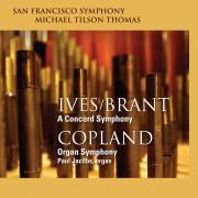 San Francisco Symphony - Ives Concord Symphony | Copland Organ Symphony - Cover Image