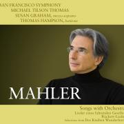 San Francisco Symphony - Mahler Songs with Orchestra - Cover Image